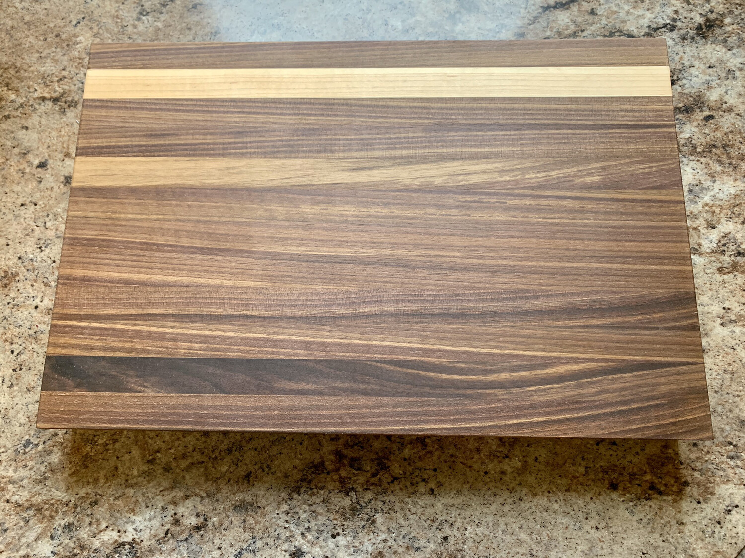 Black Walnut And Maple Cutting Board