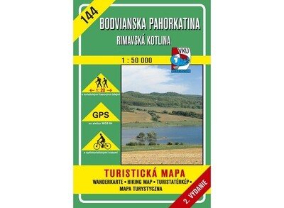 TM 144 - Bodvianska pahorkatina - Rimavská kotlina