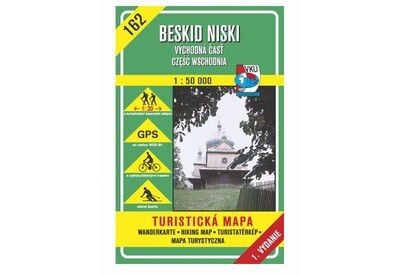 TM 162 - Beskid Niski - východná časť, czesc wschodnia (SK-PL)