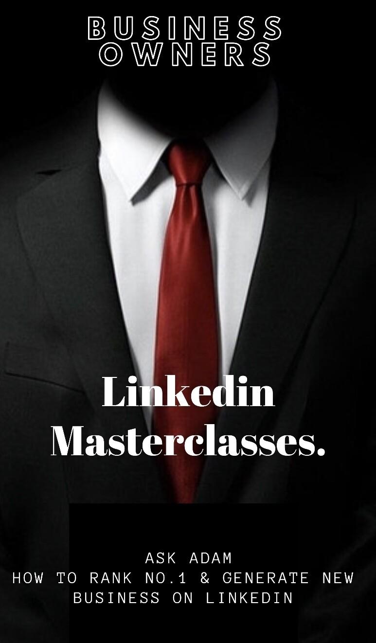 Linkedin Masterclasses for Businesses