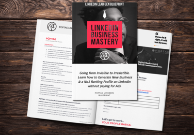 LinkedIn Blueprint. How To Generate Targeted Leads and Build your Brand.