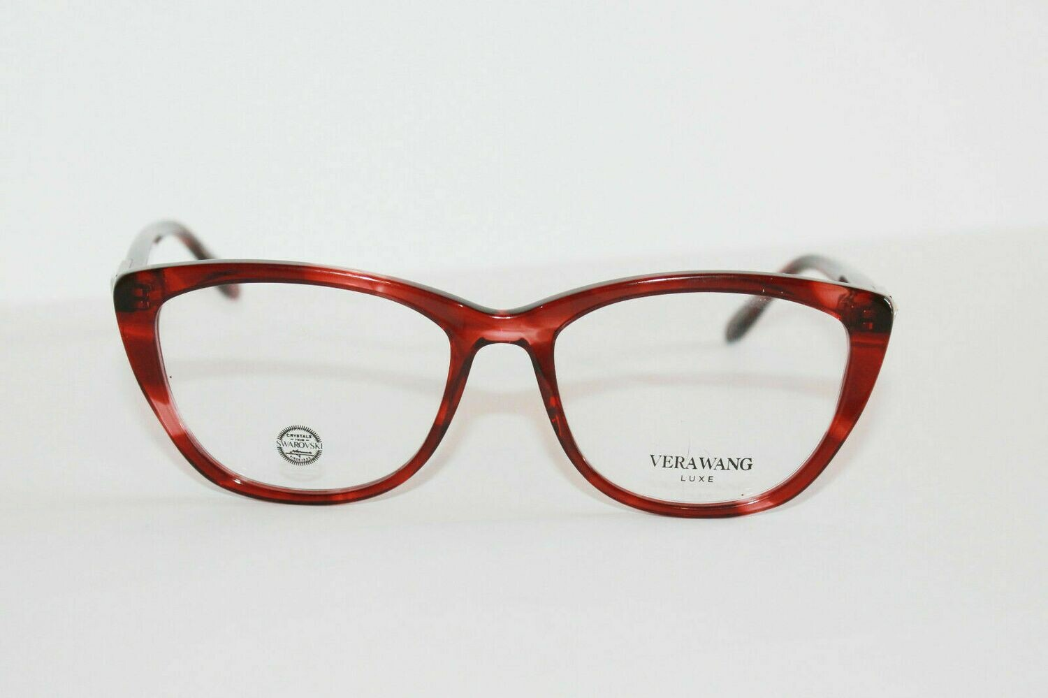 New Women Eyeglasses Vera Wang DEA RED 54-17-140 NEW and Authentic