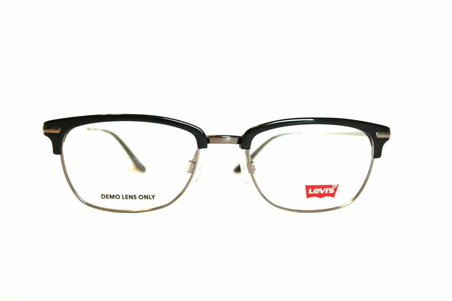 Authentic and New Levi's LS112 eyeglass frame in Black Levi's Case included