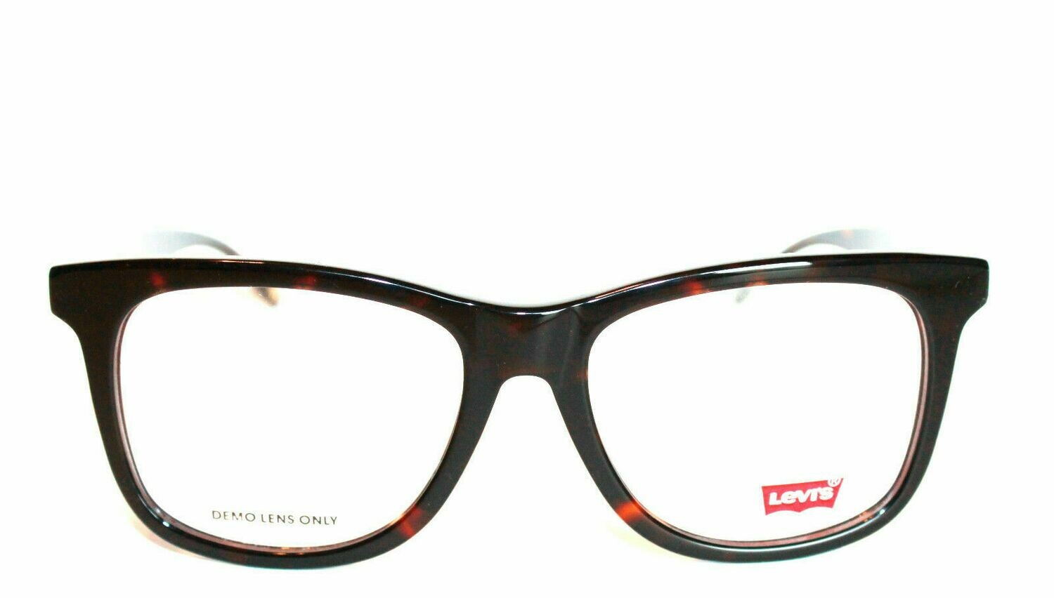 2 Pair Authentic and New Levi's LS121 eyeglass frame BR Tortoise & Black