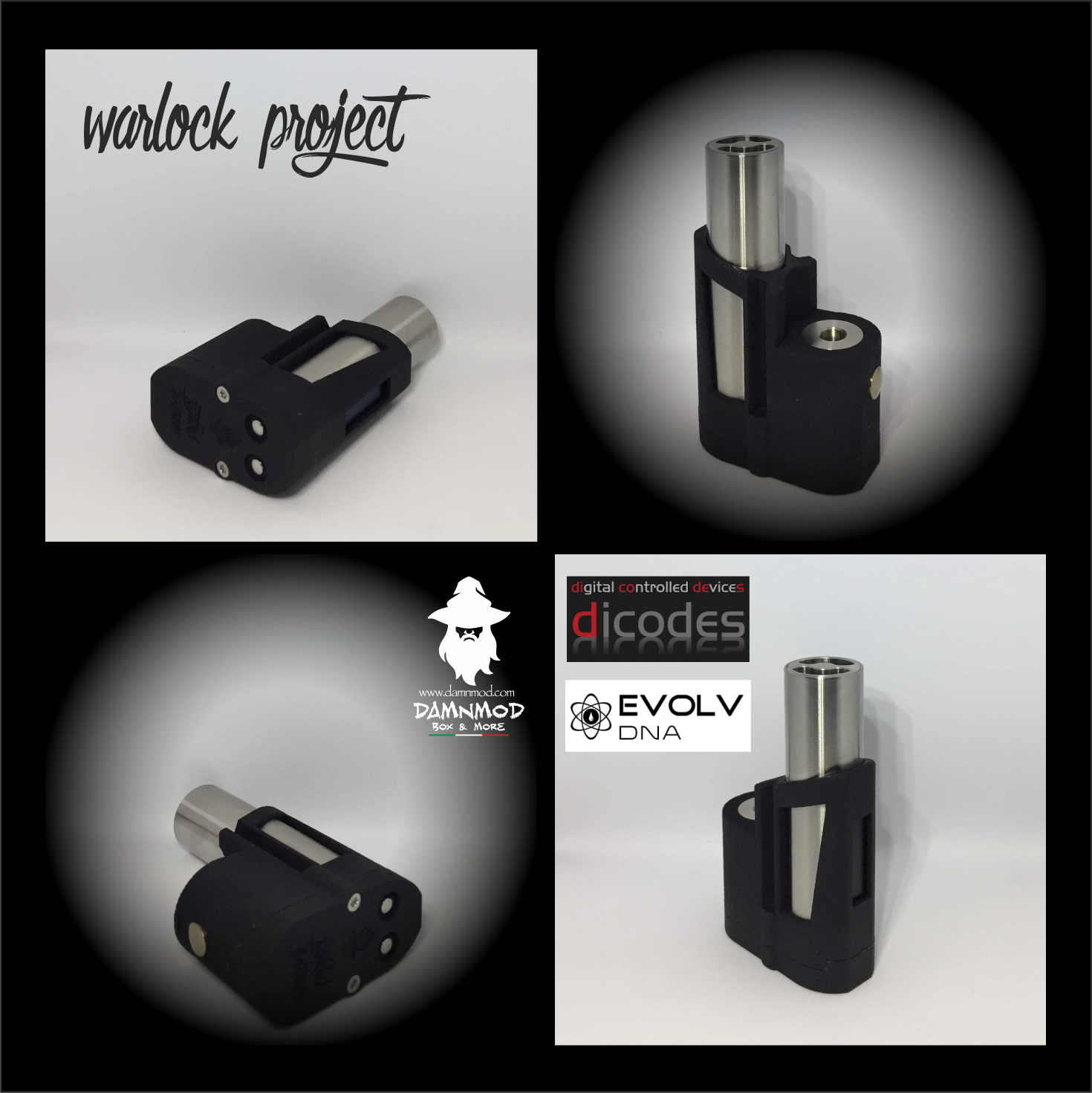 """WARLOCK PROJECT """"FULL COLOR EDITION"""" DICODES BF60"""