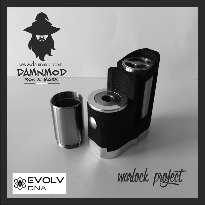 "WARLOCK PROJECT ""ELITE EDITION"" EVOLV DNA 60 - BLACK"