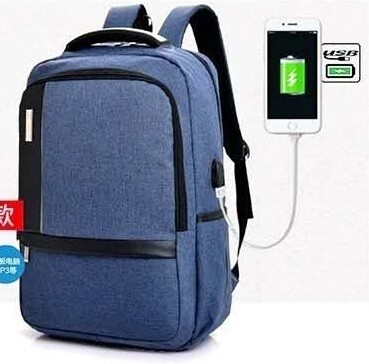 Waterproof Business Travel Computer bag backpack Smart 15.6 inch Laptop backpack with the USB charging port