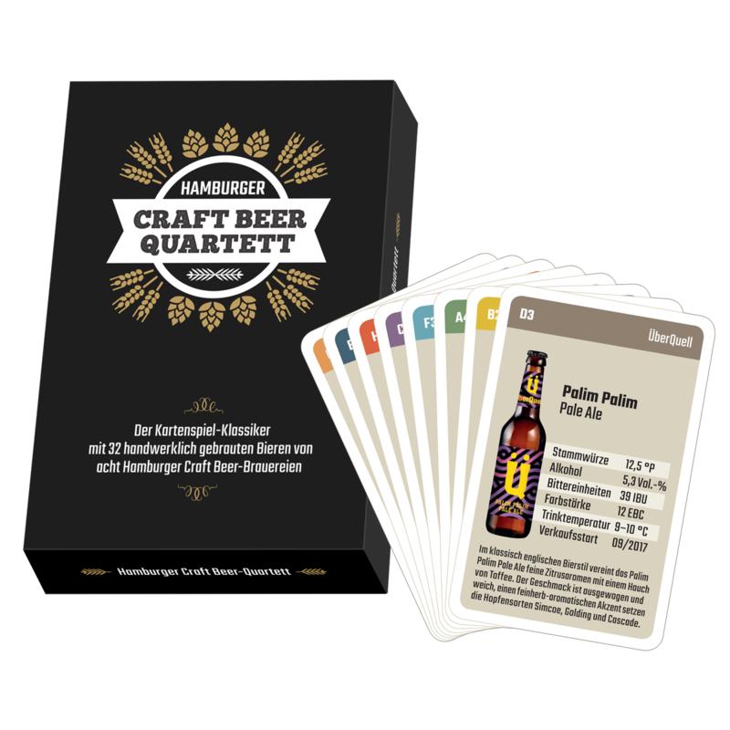 Hamburger Craft Beer-Quartett