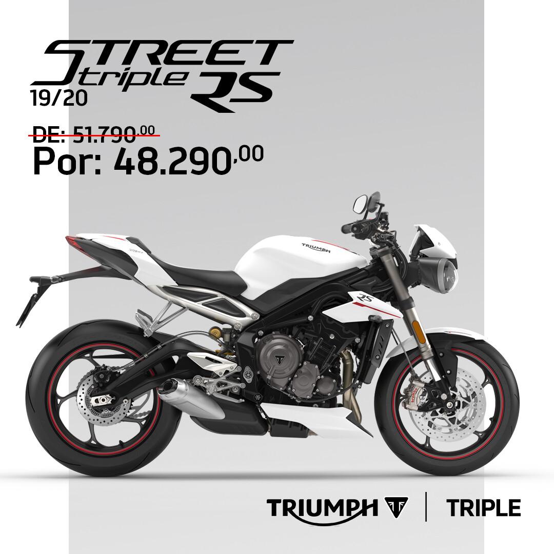 TRIUMPH STREET TRIPLE RS 19/20