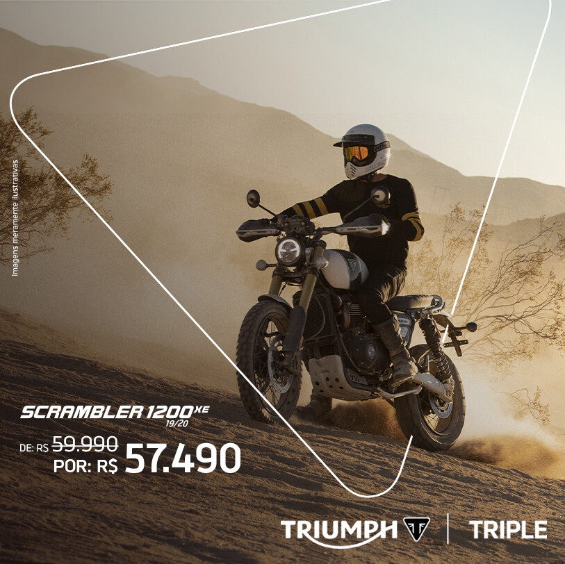 TRIUMPH SCRAMBLER 1200 XE 19/20