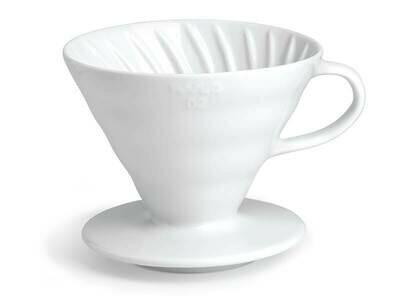 HarioV60 Ceramic Dripper 2Cup – White