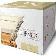 CHEMEX® BONDED CIRCLE FILTERS PRE-FOLDED - 100 pack
