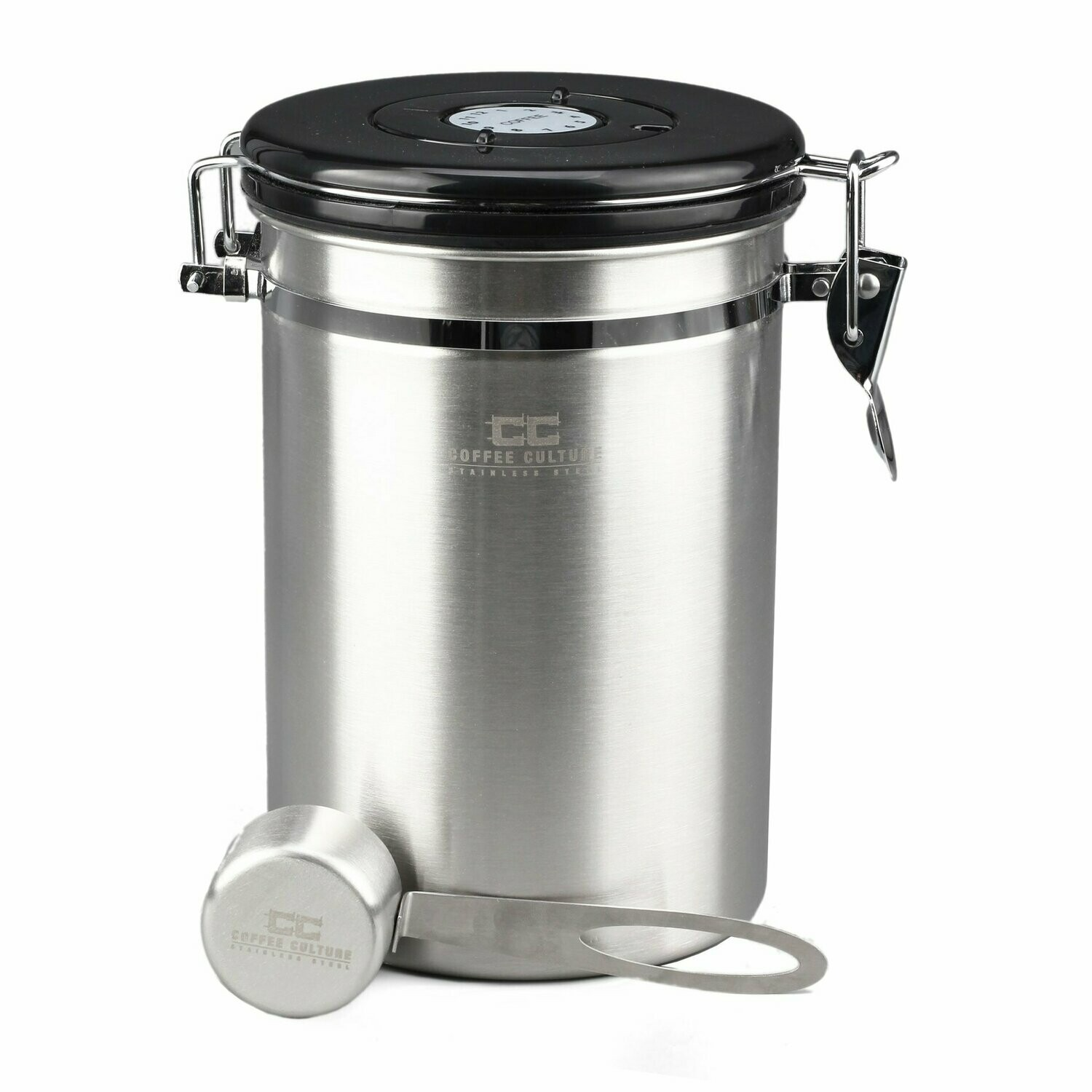 Coffee Culture Stainless Coffee Canister