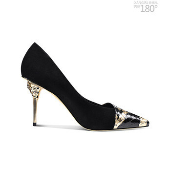High End Pointed Toe High Heel Shoes