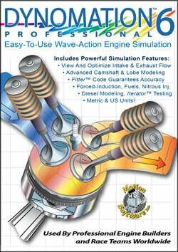 New! Dynomation6 Professional Engine Simulation