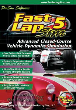 FastLapSim5 Closed-Course Simulation