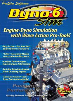 New! DynoSim6 Wave-Assisted Engine Simulation