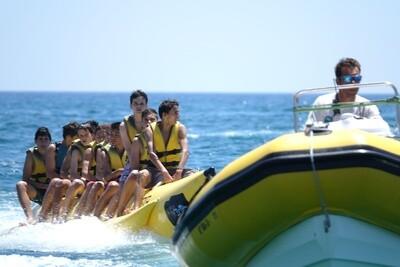 BANANA + 1 HORA DE KAYAK O PADDLE SURF