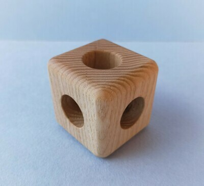 Кубик с бубенцом, Мастерская PRIRODA shop