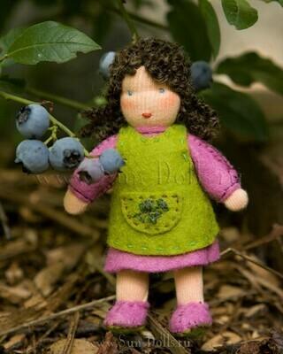 Набор для изготовления фетровой игрушки «Черничка», мастерская Sun-dolls