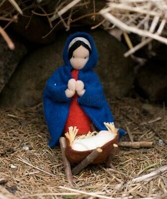 Набор для изготовления фетровой игрушки «Мария и младенец», мастерская Sun-dolls
