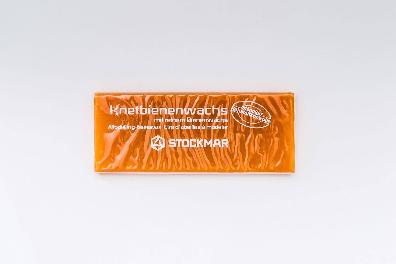 Воск для лепки Stockmar пластинка 10 х 4 см - натуральный цвет воска