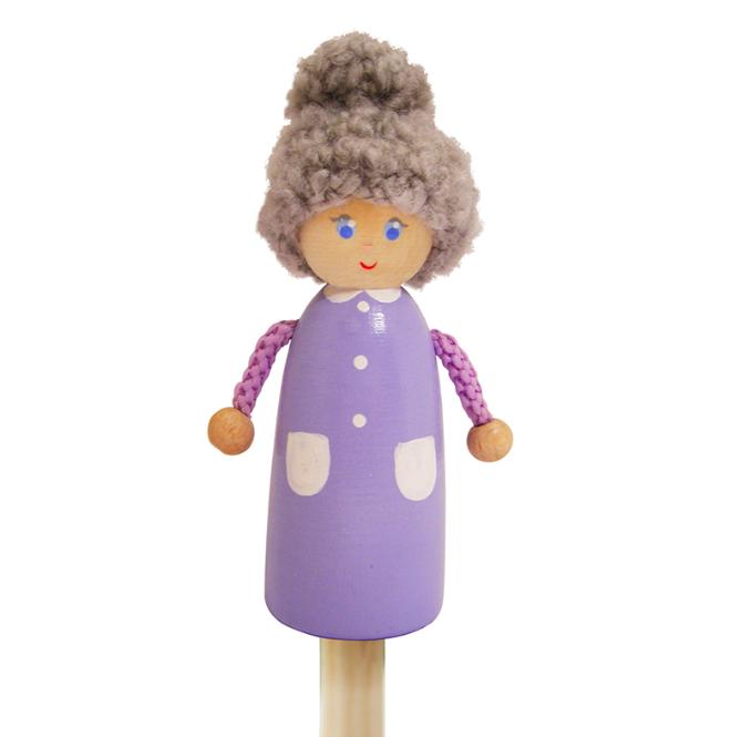 """Пальчиковая игрушка """"Бабушка"""", ТМ """"Вальда"""""""