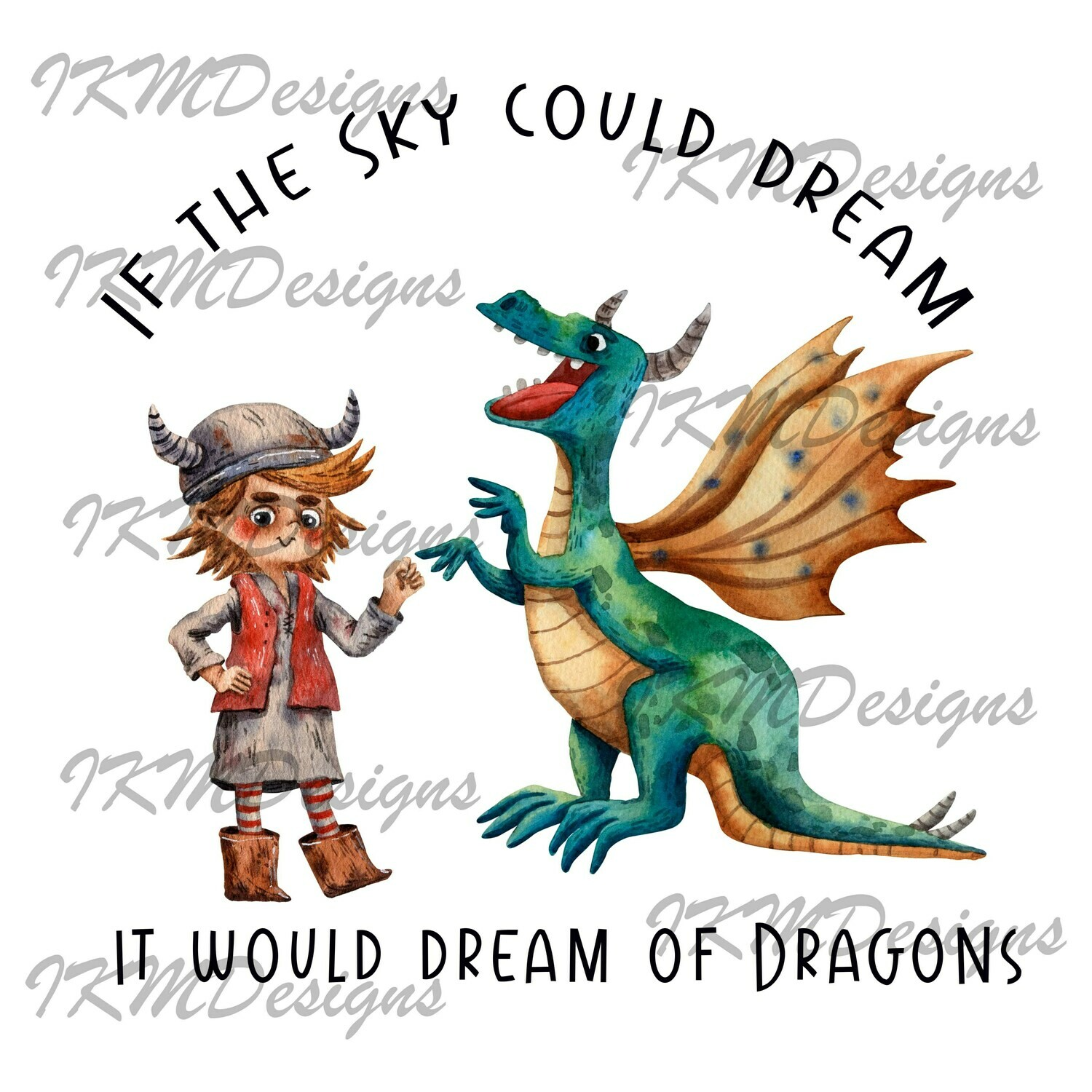 If the Sky could dream...  Printable Sublimation File