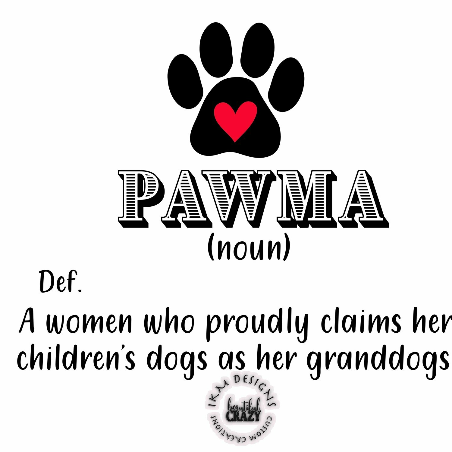 Dogs - PAWMA Printable Sublimation