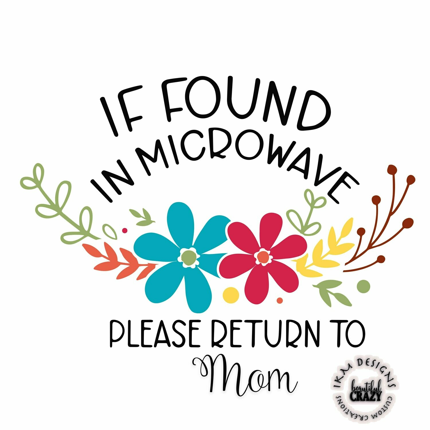 #MomsLife - Mother's Day Printable Sublimation