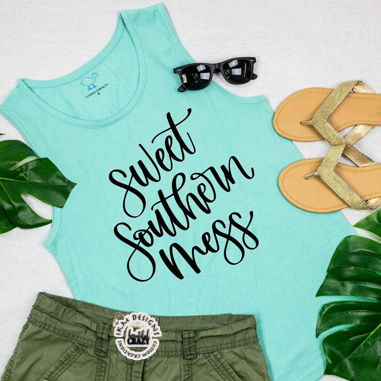 """Sweet Southern Mess "" T-Shirt"