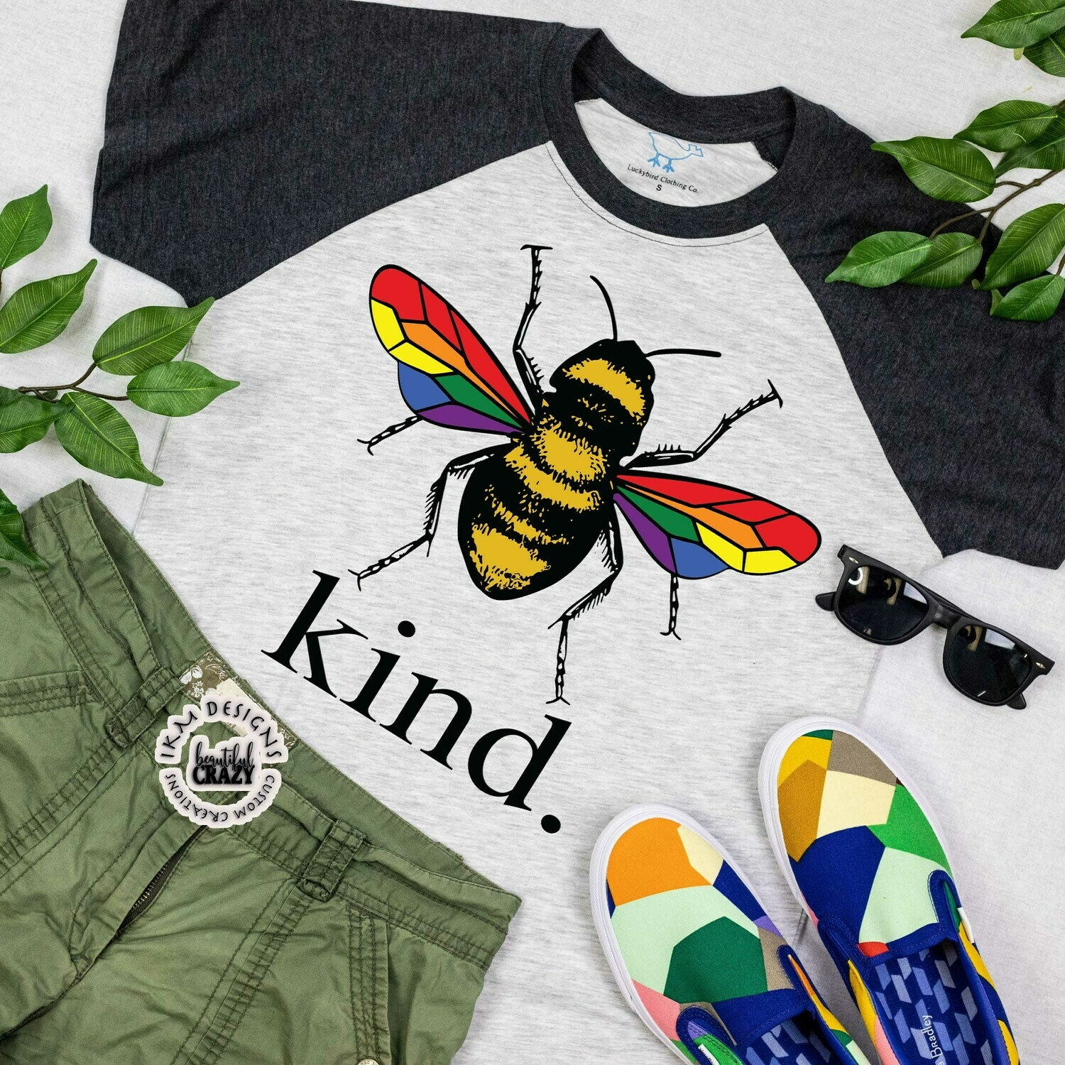 Be Kind! Raglan
