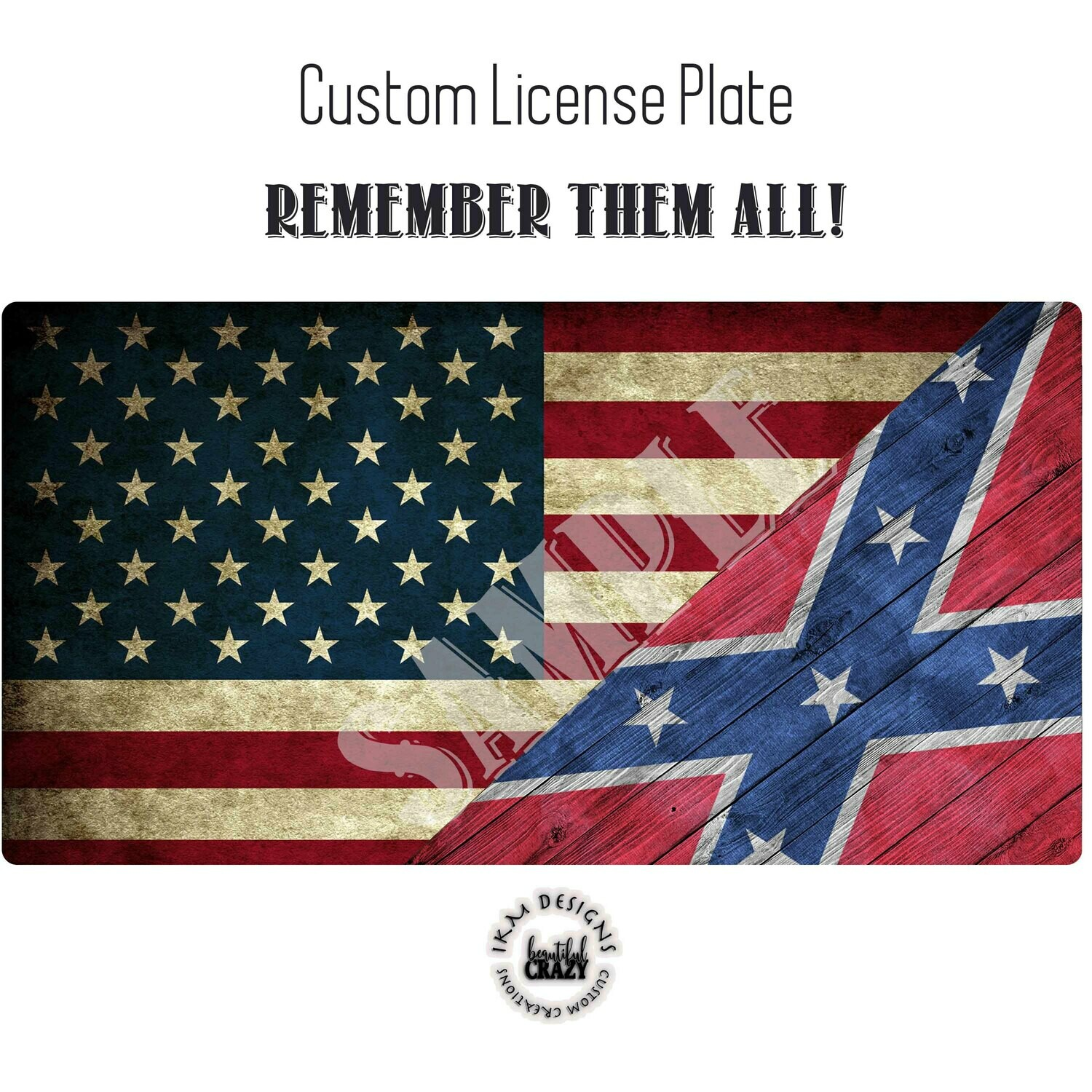 License Plate: Remember them All
