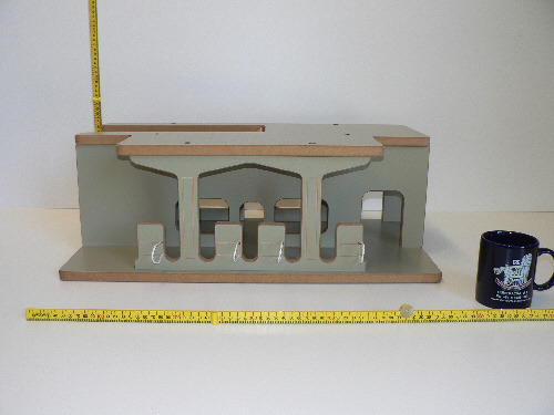 Ramp Service Station Kit, manufactured from wood in Australia