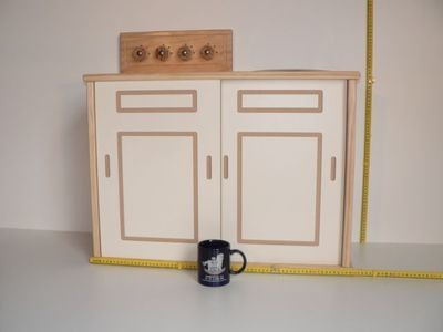Sink Stove Kit hand crafted from wood in Australia