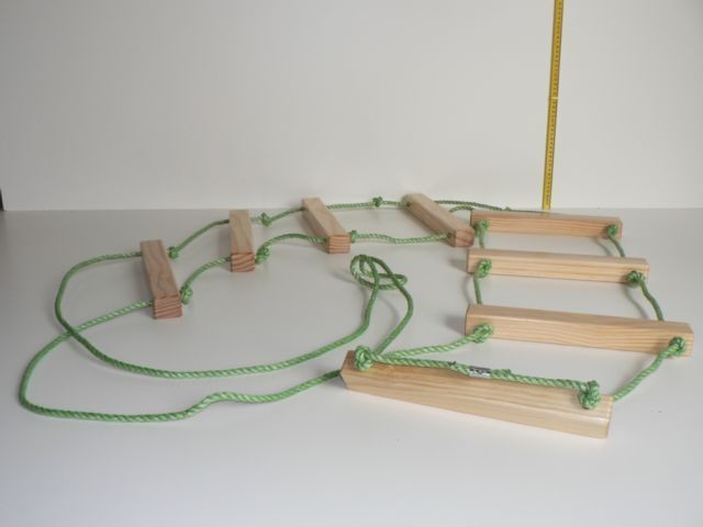 Rope Ladder made from wood in Australia