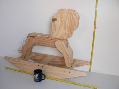 Bow Rocking Horse hand made in Australia