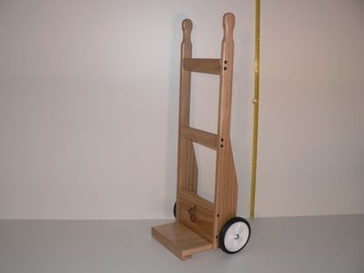Sack Trolley crafted from wood in Australia