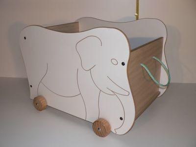 Jumbo Storage Box / Hand made in Australia