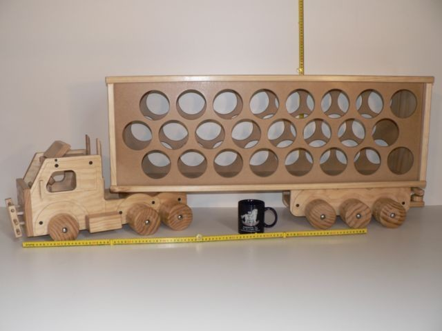 Pantec Wine Truck / Hand made from wood in Australia