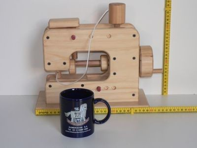Sewing Machine Kit, hand made from wood in Australia