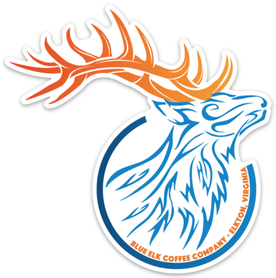 Blue Elk Stickers