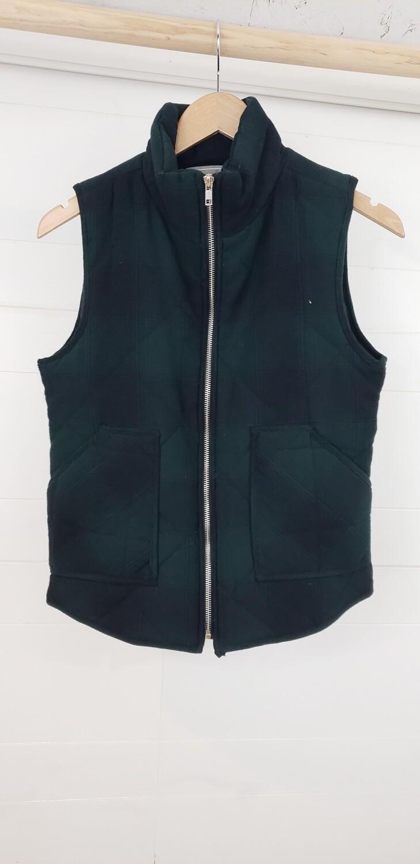 Chloe Plaid Vest