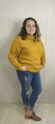 Madelyn Cowl Neck Sweater