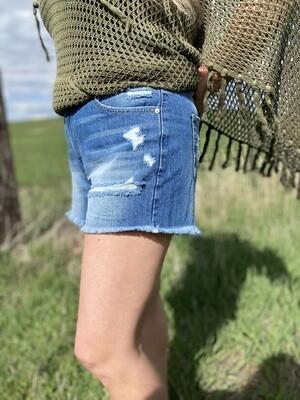 Jessie Light Wash Shorts
