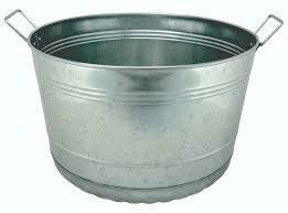Galvanized Round Tub