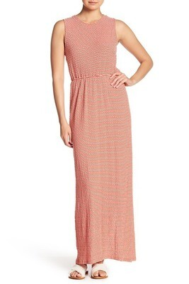 Derek Lam 10 Crosby Poppy Stripped Dress