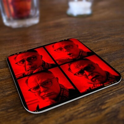 The Many Faces of Bill Russell - Drink Coasters (Set of 4)
