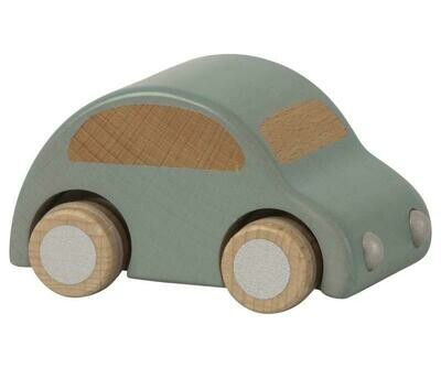 WOODEN CAR, BLUE