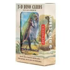 3-D DINO CARDS